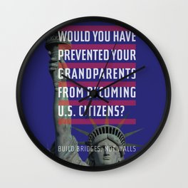 Would you deny your grandparents citizenship? Wall Clock