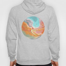 Fantasy Dragon and Clouds Hoody