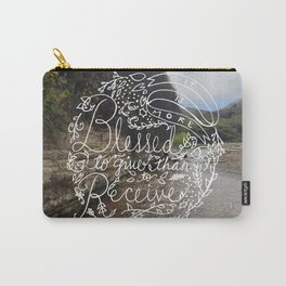 Acts 20:35 Carry-All Pouch