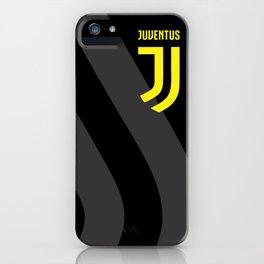 JUVENTUS Black iPhone Case