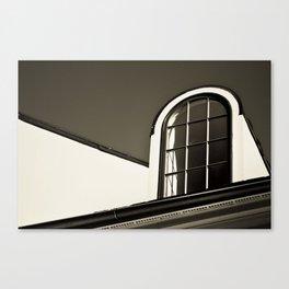 Upstairs Window Canvas Print