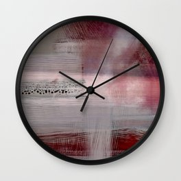 Zen Sunrise - Contemporary Abstract Wall Clock