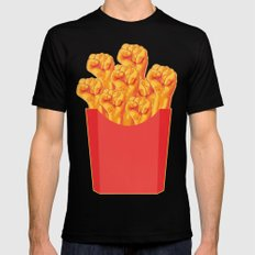 Revolucion con Fritas LARGE Mens Fitted Tee Black