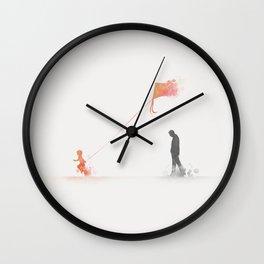 Slightly Numb Wall Clock
