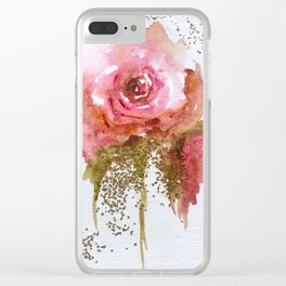 I'm in Love Now Clear iPhone Case