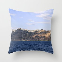 Santorini, Greece 17 Throw Pillow