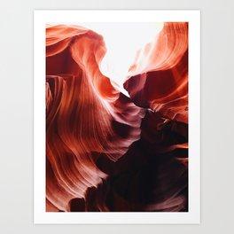 Arizona Waves Art Print