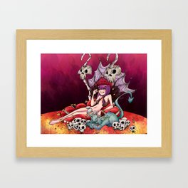 Princess Terror Framed Art Print