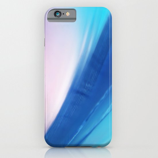 Feather Blue iPhone & iPod Case