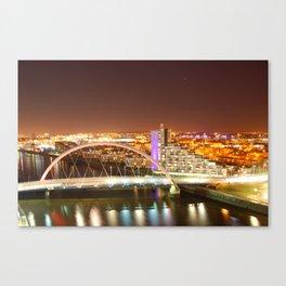 Clyde Arc Bridge. Canvas Print