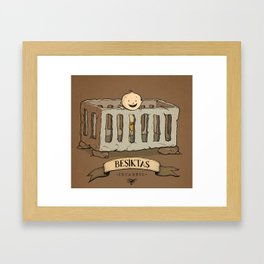 Besiktas, Istanbul Framed Art Print
