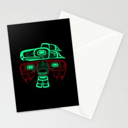Native American style Tlingit Thunderbird Stationery Cards