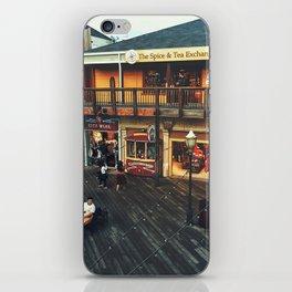 Fisherman's warf iPhone Skin