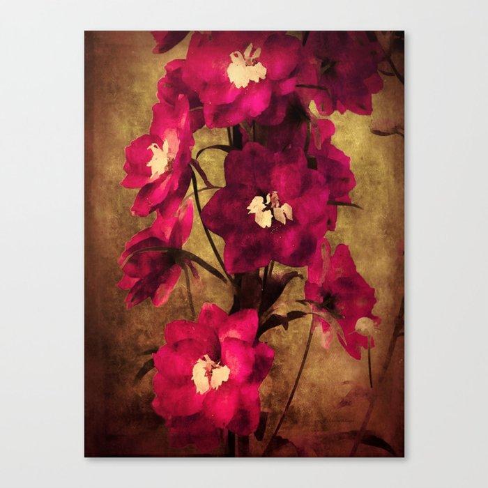 Vintage Flowers Canvas Print