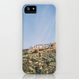 Hollywood Sign Los Angeles iPhone Case