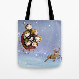 Little Hiddles Christmas Time Tote Bag