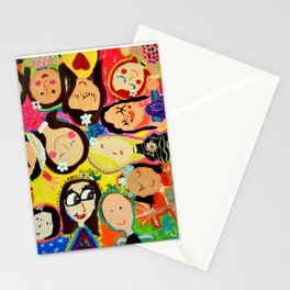 Painting Wednesday Art Class- Part 1 Stationery Cards