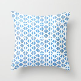Hand Stamped Pattern  Throw Pillow