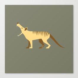 EXTINCT: Thylacine (Tasmanian Tiger) Canvas Print