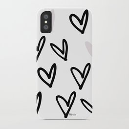 Lovely Hearts - Valentine's pattern iPhone Case