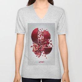 Flying Pomegranate Unisex V-Neck
