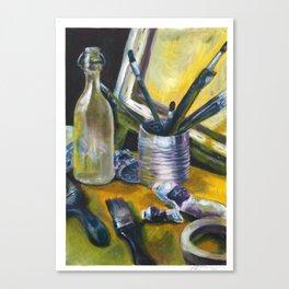 Artists Mess Canvas Print