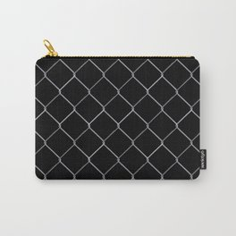 Black Chainlink Carry-All Pouch