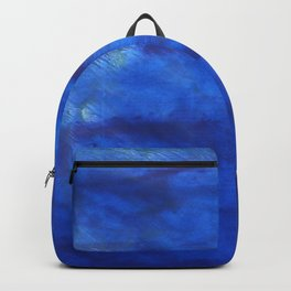 New car abstract watercolor Backpack