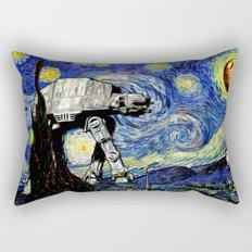 Starry Night versus the Empire Rectangular Pillow