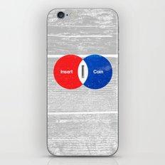 Vend Diagram iPhone & iPod Skin