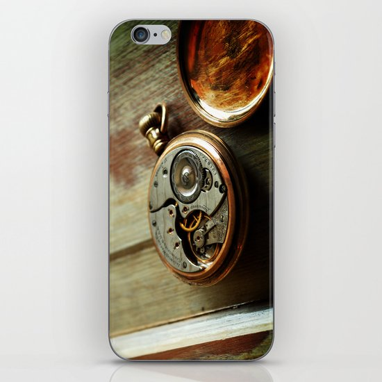 The Conductor's Timepiece - 2 iPhone & iPod Skin