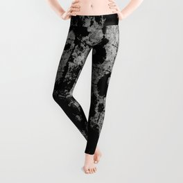 Textured Contrast 1 - Study in black and white Leggings