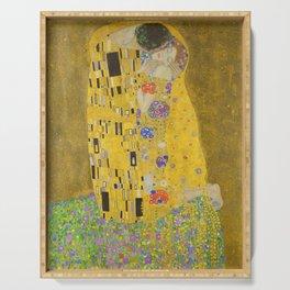 "Gustav Klimt ""The Kiss"" Serving Tray"