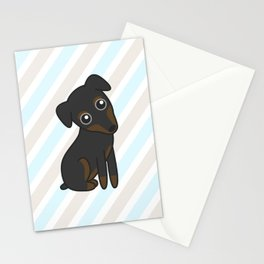 Rylee the Min Pin Stationery Cards