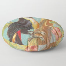 Toco Toucan Birds of the Tropics Series by A&G Floor Pillow