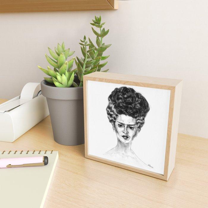 Frida Frankenstein Framed Mini Art Print