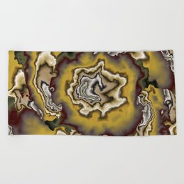 Turbulence in CMR 00 Beach Towel