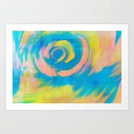 Bombora Art Print