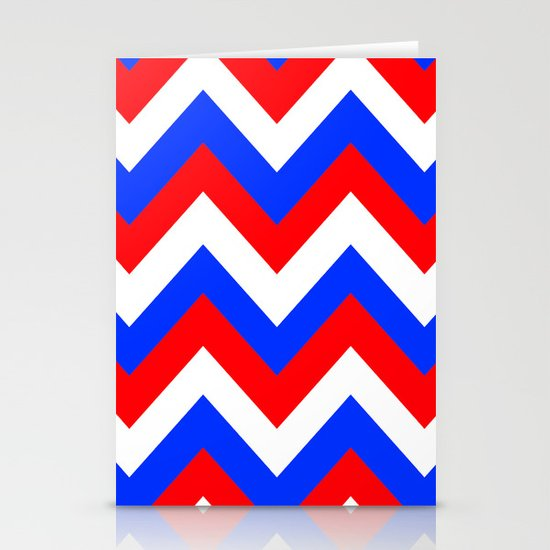 AMERICAN CHEVRON Stationery Cards