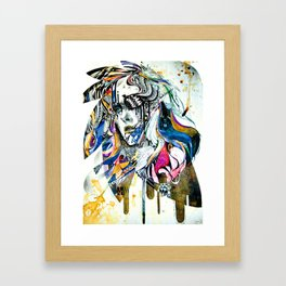Reminiscence II - Minjae Lee - Grenomj Framed Art Print