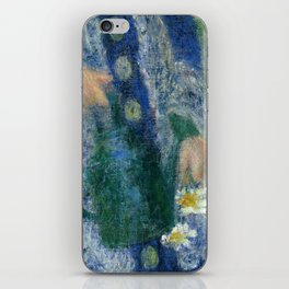 Girl with a Watering Can iPhone Skin