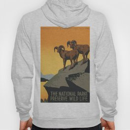 Vintage poster - National Parks Hoody