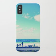 cardiff by the sea iPhone X Slim Case