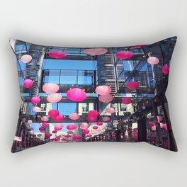 Pink Balloons Rectangular Pillow