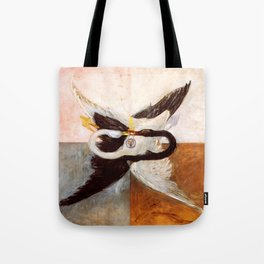 "Hilma af Klint ""The Swan, No. 24, Group IX-SUW, 1915"" Tote Bag"