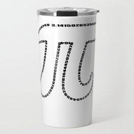 Math Pi Day Nerdy geek humor gift Irrational Travel Mug