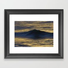 Waves II Framed Art Print