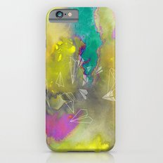 Planes in Watercolor Slim Case iPhone 6s