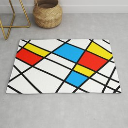 Related Colored Lines Rug