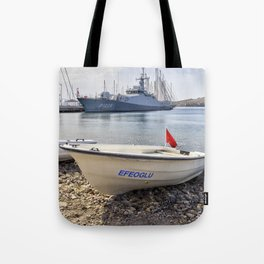 When I Grow Up I Want To Be A Warship Tote Bag